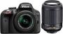 Фотоаппарат Nikon D3300 Kit AF-S 18-55 VR II + 55-200 VR