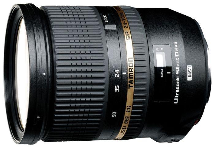 Объектив Tamron (Nikon) SP AF 24-70mm F/2.8 Di VC USD
