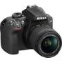 Фотоаппарат Nikon D3400 Kit AF-P 18-55 black