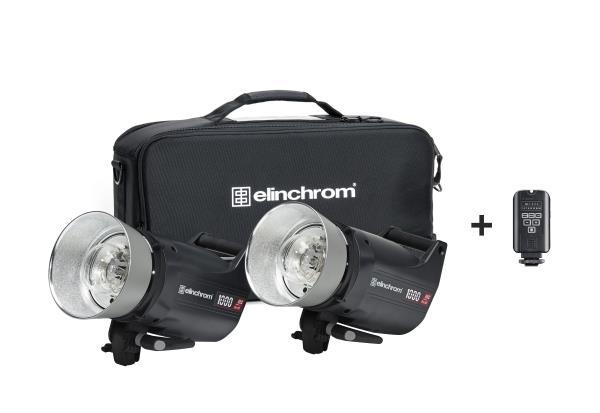 Комплект Elinchrom ELC Pro HD 1000/1000 импульсный