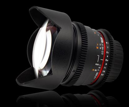 Объектив Samyang Canon EF 14mm T3.1 ED AS IF UMC VDSLR II