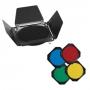 Набор FST BD-100 Шторки + Соты + цветные фильтры