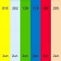 Фильтры цветные Fotokvant Color Kit (3245) №1 30x30 cm