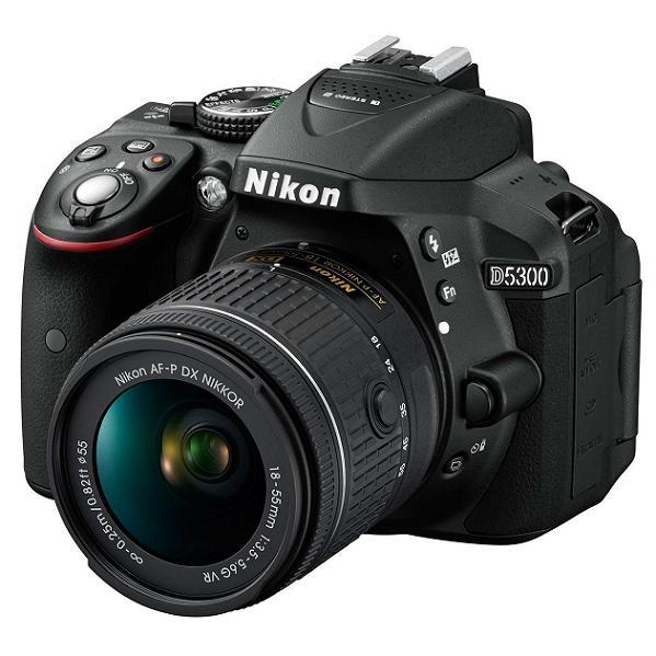 Фотоаппарат Nikon D5300 Kit AF-P DX 18-55 mm f/3.5-5.6G VR