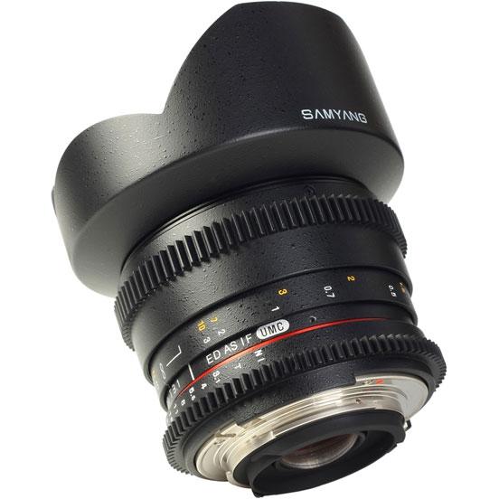 Объектив Samyang Nikon 14mm T3.1 ED AS IF UMC VDSLR II