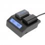 Зарядное устройство GreenBean NPF для SONY NP-F и Canon LP-E6 25974
