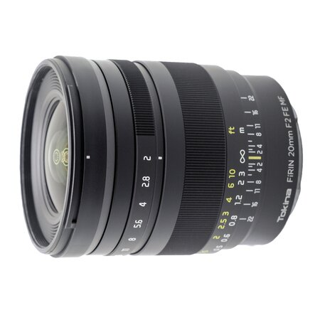 Объектив Tokina (Sony E) 20mm f/2 FIRIN FE MF