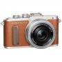 Фотоаппарат Olympus PEN E-PL8 kit 14-42 EZ Pancake коричневый