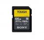 Карта памяти SD 64Gb Sony SDXC UHS-II V60 U3 TOUGH 277/150 MB/s