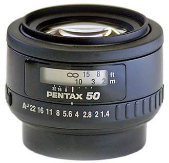Объектив Pentax SMC FA 50 mm F/1.4