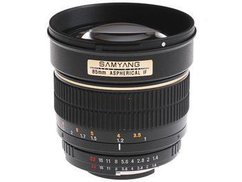 Объектив Samyang Canon EF 85 mm F/1.4