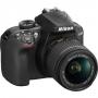 Фотоаппарат Nikon D3400 Kit AF-P 18-55 VR black