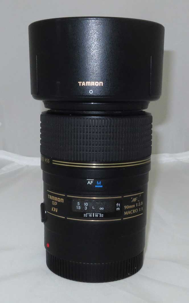 Объектив Tamron для Canon AF SP 90 mm F/2.8 Di Macro б/у