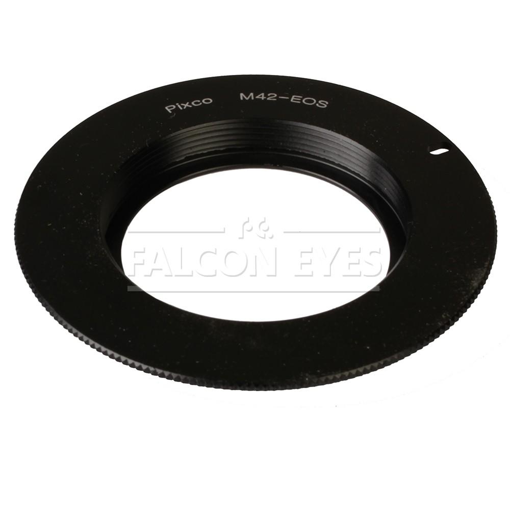 Переходное кольцо Falcon Eyes c M42 на Canon Eos
