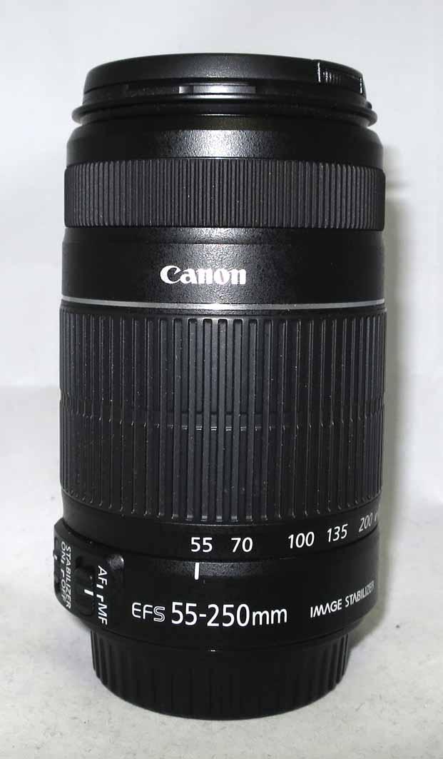 Объектив Canon EF-S 55-250 MM F/4-5,6 IS б/у