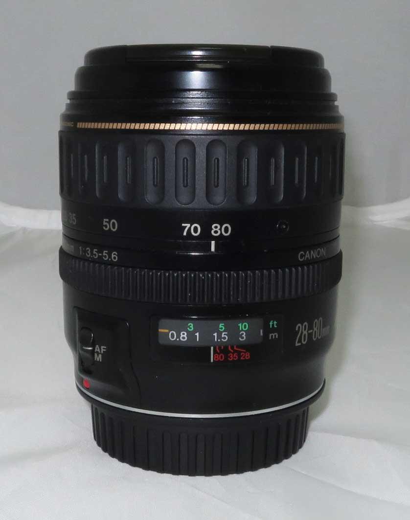 Объектив Canon EF 28-80 f/3,5-5,6 б/у
