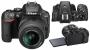Фотоаппарат Nikon D5500 Kit AF-S 18-55 DX VR+55-200VR