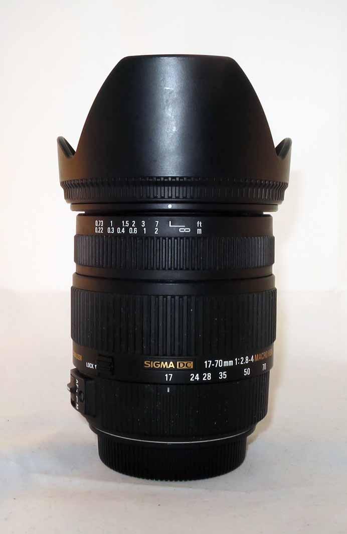 Объектив Sigma 17-70 F2.8-4 для Canon б/у