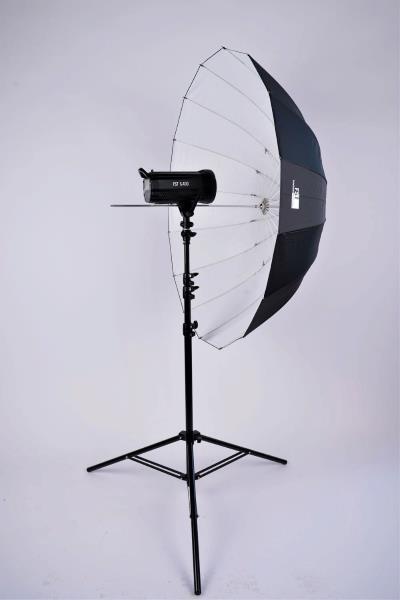 Зонт FST UD-42 B/W белый на отражение глубокий 105см