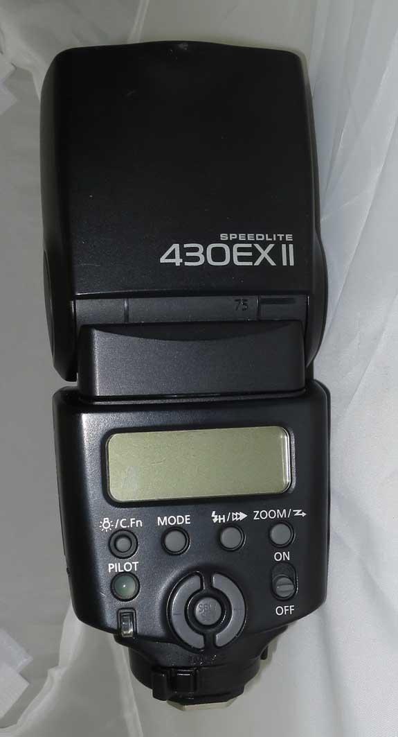 Вспышка Canon SpeedLite 430EXII б/у
