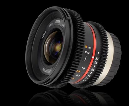 Объектив Samyang Micro 4/3 12mm T2.2 NCS CS Cine