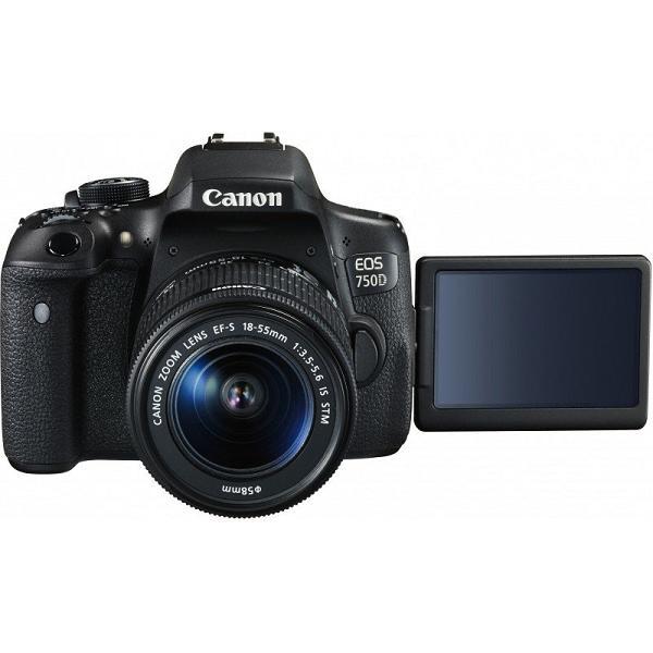 Фотоаппарат Canon EOS 750D Kit 18-55 STM