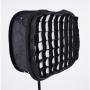 Софтбокс FST LED SB-240 37x45 с сотами для LED-панелей до 20х32 см
