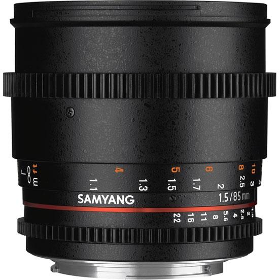 Объектив Samyang Canon EF 85mm T1.5 AS IF UMC VDSLR II