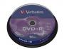 Verbatim DVD+R 4.7Gb cake 10шт