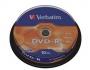 Verbatim DVD-R 4.7Gb cake 10шт