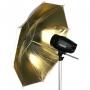 Зонт Falcon Eyes 90см URN-48GW золотистый / белый
