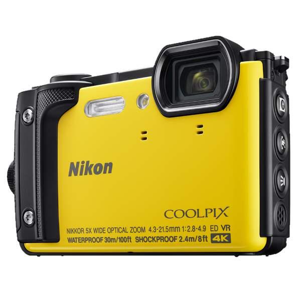 Фотоаппарат Nikon Coolpix W300 желт / оранж / хаки