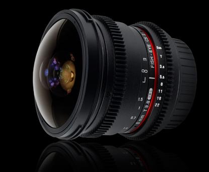 Объектив Samyang Canon EF 8 mm T3.8 AS IF UMC Fish-eye CS II VDSLR
