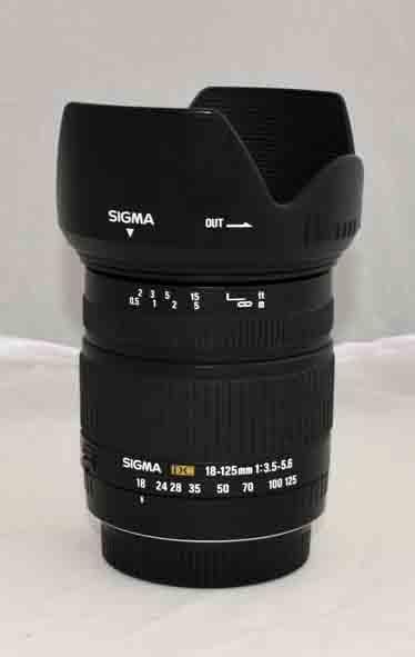 Объектив Sigma 18-125 F3.5-5.6 для Sigma б/у