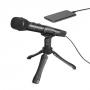 Микрофон ручной BOYA BY-HM2 Кардиоидный USB Тип-C, USB-A и Lightning