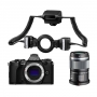 Фотоаппарат Olympus OM-D E-M5 mark II dental kit 60mm Macro + STF-8