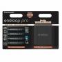 Аккумулятор Panasonic Eneloop Pro AA 2450 mAh 4шт BK-3HCDEC4BE + кейс
