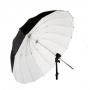 Зонт Fotokvant 100 см U-100W Para парабалический белый на отражение