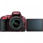 Фотоаппарат Nikon D5500 kit 18-55 VR II красный