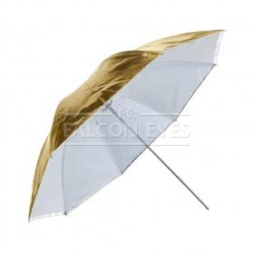 Зонт Falcon Eyes 70 см URK-32TGS золот./серебр./просв./отражен.