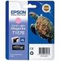 Картридж EPSON T1576 к Stylus R3000 светло-пурпурный