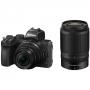 Фотоаппарат Nikon Z50 kit 16-50 VR + 55-250 VR