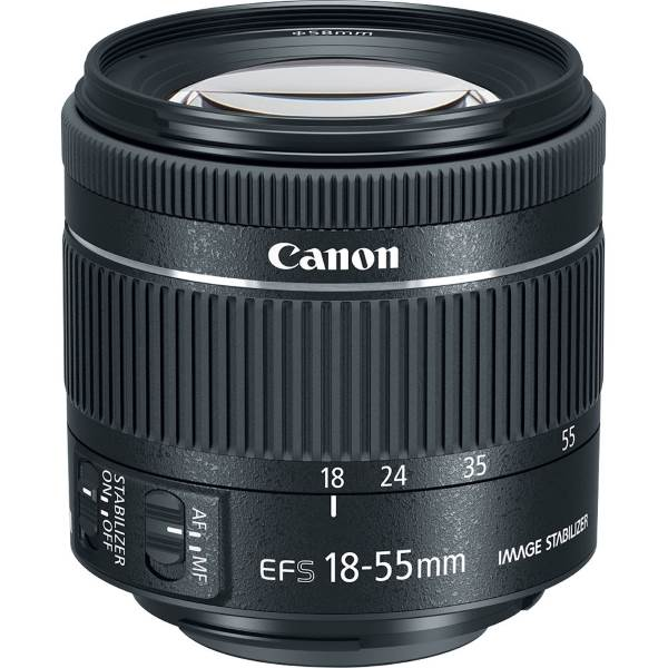 Объектив Canon EF-S 18-55 f/4-5.6 IS STM