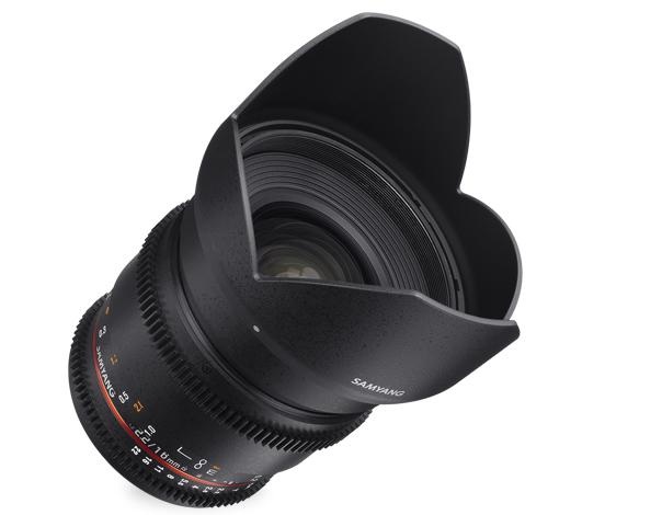 Объектив Samyang Sony E-mount 16mm T2.2 ED AS UMC CS VDSLR