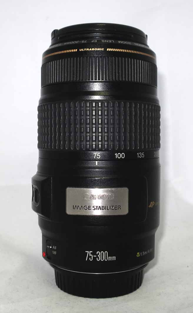 Объектив Canon EF 75-300 4,0-5,6 IS б/у