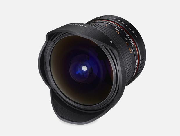 Объектив Samyang Fuji X 12mm f/2.8 ED AS NCS Fish-eye