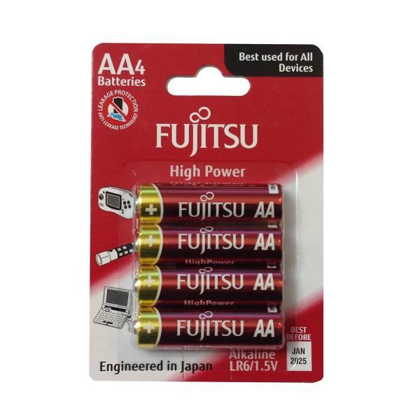 Батарейка LR06 Fujitsu LR6(4B)FH-W-FI High Power 4 шт. 83422