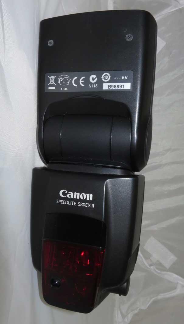 Вспышка Canon SpeedLite 580EXII...б/у