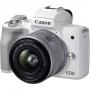 Фотоаппарат Canon EOS M50 Mark II 15-45 IS STM kit белый