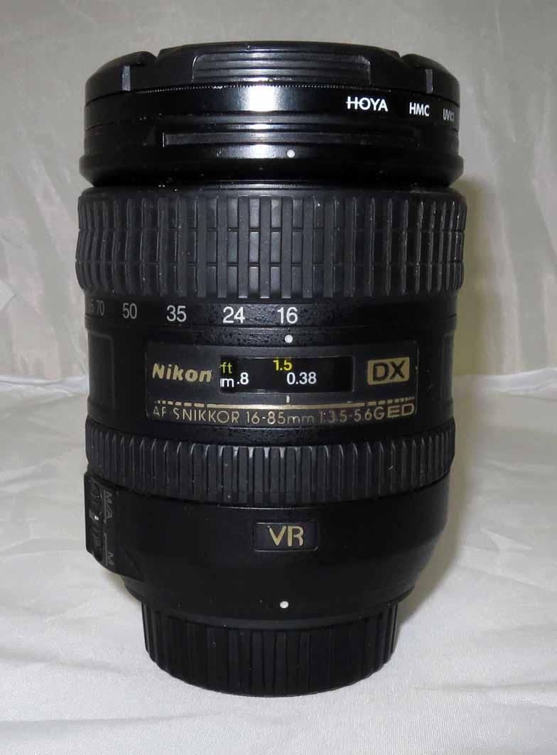 Объектив Nikon Nikkor AF-S 16-85 f/3.5-5.6G ED VR DX б/у